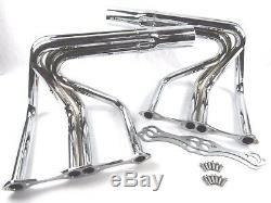 Small Block Chevy Sprint Roadster Headers Chrome BPH-1009C