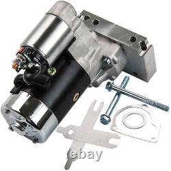 Small Block Mini Starter 3HP For Chevy Chrome 153 or 168 Tooth 327 350 400 SBC