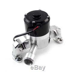 Speedmaster Water Pump PCE194.1001 35GPM Chrome Aluminum Electric for Chevy SBC