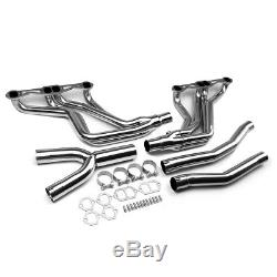 Stainless Steel Long Tube Header Manifold Exhaust+y-pipe For Fbody Camaro Sbc At