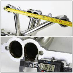 Stainless Steel Ss Exhaust Long Tube Header For 84-91 Chevy Gmt C/k 5.0/5.7 Sbc