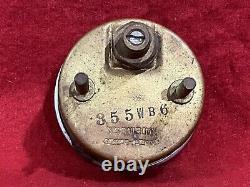 Stewart Warner Twin Blue Vacuum Gauge