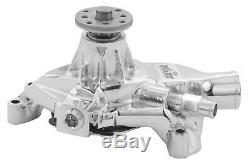 TUFF-STUFF SBC Corvette Water Pump Chrome 1534NA