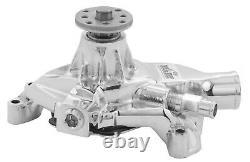 TUFF-STUFF SBC Corvette Water Pump Chrome P/N 1534NA