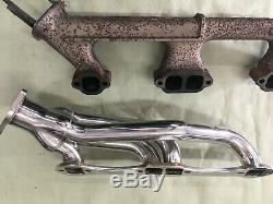 Thornton 1966 1967 Chevy Chevelle Shorty Headers Sbc 3942529 3932376 350 New