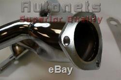 Tight-Fit Chromed Street Hot Rod Hugger Headers Small Block Chevy SBC 265-350