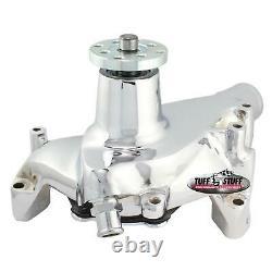 Tuff Stuff 1449NAREV GM SBC Long Water Pump, Chrome