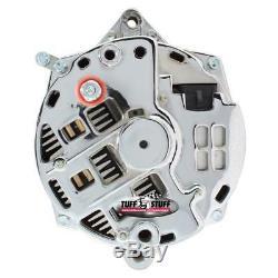 Tuff Stuff Alternator 7864D CS144 200 Amp Chrome for 90-95 Corvette ZR1 350 SBC