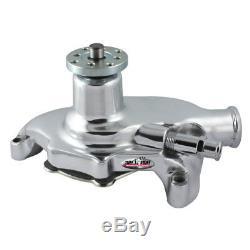 Tuff Stuff Water Pump 1353NA Supercool Chrome Aluminum for Chevy/GM 262-400 SBC