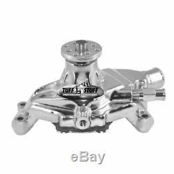 Tuff Stuff Water Pump 1635NE Mechanical Chrome Aluminum for Chevy 262-400 SBC