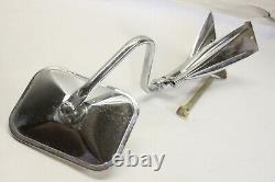 Vintage NOS Pathfinder Car Truck Exterior Chrome Accessory Towing Mirror Camper