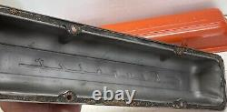 Vintage OEM CHEVROLET SCRIPT Valve Covers 1960-67 sbc V8 Hot Rod muscle car old