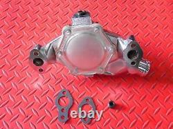 Water Pump High Volume Chrome Short Pump Small Block Chevy 68 Back 327 283 350