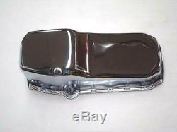 1958-1979 Small Block Chevy Chrome Pan Huile 4qt Capacité Stock 283 305 350 400 Sbc