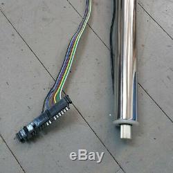 1960 1986 Chevrolet Suburban 30 Chrome Non Colonne De Direction Inclinable Gm Étage Maj G