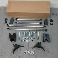 1962 64 Chevy II Nova Suspension Arrière Quatre 4-link Kit Ss Bbc Sbc Track Chrome