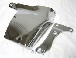 1969-1975 Petit Bloc Chevy Long Wp Chrome Alternator Bracket 283-350 Oem Sbc