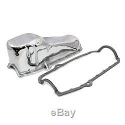 58-79 Sbc Chrome Stock Capacité Du Carter D'huile 327 350 400 Petit Bloc Chevy Avec Joint