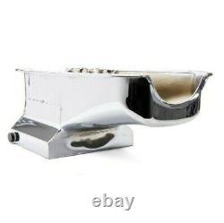 58-79 Sbc Small Block Chevy Chrome Steel 7 Quart Drag Oil Pan 2 Pc Rm