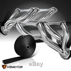 58-82 Chevy Corvette V8, Bloc Moteur, Collecteur D'échappement, Embase + Enveloppe Noire