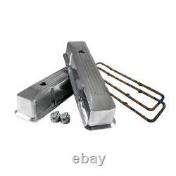 58-86 Sbc Chevy 350 Chrome En Aluminium Encastré Couvercles De Vanne 400 Joints
