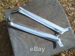 65 66 Chevrolet Impala Ss A Sbc Chrome Pare-brise Piller 327