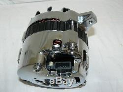 71-86 Gm Chrome 110 Amp 10si 1 Un Fil Alternateur Avec Billet Sbc Support Lwp