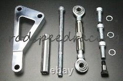 Alternateur Avec Support 1 Un Ou 3 Fil Sbc Sb Chevy Long Pump Lwp Chrome 120 Amp