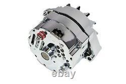 Alternateur D'amplis Sbc Bbc Gm Chevy Chrome 110 Avec 1 Configuration De Fil 305 350 383 400 454