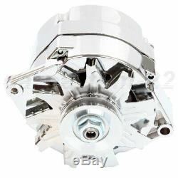 Alternateur Pour Chrome Bbc Sbc Rue Chevy Rod 110 Amp 1-wire 240-204-3dc 12v