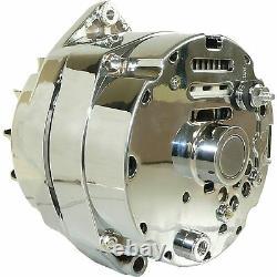 Alternateur Pour Chrome Pour Bbc Sbc Chevy 105 Amp 1 Fil Haute Sortie 400-12395