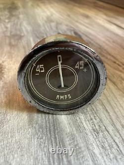 Appareil De Mesure D'instrument Amps D'origine Stewart Warner Diamond T Panneau Dash Hotrod Scta