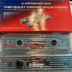 Chevy Bowtie Chrome Valve Covers -petit Bloc 1987+ 141-107 12355350