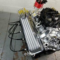 Chevy Sb Chrome Tall Finned Valve Couvre Respirateurs L48 V8 327 350 58-79