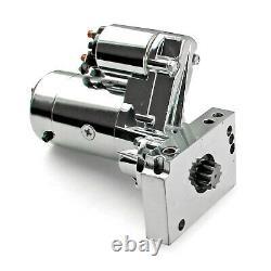 Chevy Sbc 350 Bbc 454 10 153t 11 168t Mini Muscle 4hp Starter Motor Chrome