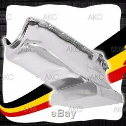 Chrome 7qt Drag Racing Carter Pour 58-79 Chevy Small Block 283 305 327 350 400