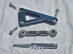 Chrome Aluminium Chevy Alternateur Support Sbc Lwp 283 305 350 Tige De Rat Chaud De Rue