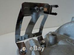 Chrome Sb Chevy Réglable Câble D'accélérateur Kickdown Support Sbc Holley Kickdown