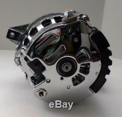 Courroie Serpentine Alternateur Gm Chrome 120 Amp Cs130 1 Un Fil Chevy Sbc Bbc Nouveau