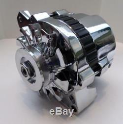 Courroie Trapézoïdale D'alternateur Gm Chrome 120 Amp Cs130 1 Un Fil Chevy Sbc Bbc 1968-1995 Nouveau