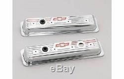 Couvercles De Valve Chevrolet En Acier Estampé Proform 141-107 Chevy Sbc 283 305 350 400