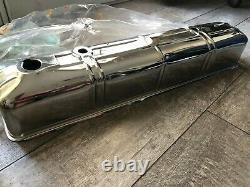 Couverture De Valve En Acier Chrome Pour 1942-1953 Chevy 216 Moteur Droit En Ligne V6