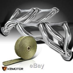Embase De Collecteur D'échappement De Moteur Corvette V8 58-82 Small Block + Titaninum Wrap
