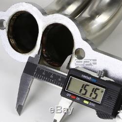 Fit 84-91 Gmt C / K 5.0 / 5.7 Sbc Inox Collecteur Racing Long Collecteur / Échappement
