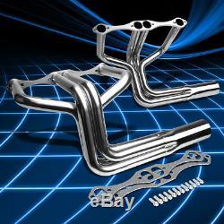 Fit Chevy Hi-boy Sbc Small Block V8 Hot Rod Inox Collecteur D'échappement