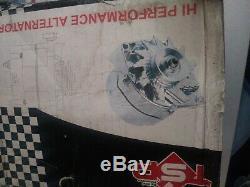 Gm Chrome 120 Amp Cs130 Alternateur Serpentine Ceinture 1 Un Fil Chevy Sbc Bbc Nouveau