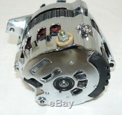 Gm Sbc Bbc Chrome 120 Ampères Cs130 Alternateur Ceinture Serpentine 1 Chevy