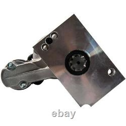 High Torque Chrome Mini Starter Pour Chevy Sbc Bbc 153/168 Tooth 18493