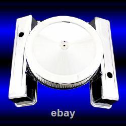 Housses De Valve De Haute Qualité Chrome Et Combo Plus Propre Pour Chevy 327 350 383 400 Sbc