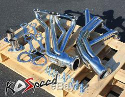 Long Collecteur De Tube D'échappement En Acier Inoxydable Ss Pour Action-line Sbc V8 De Chevy 67-77